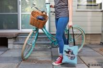 tote bike mockup